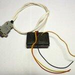 Преобразователь уровней RS-232 - TTL на транзисторах