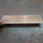 Подготавливаем стеклотекстолит нужного размера